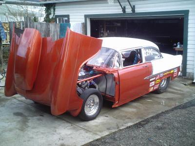 1956-1957 Chevrolet Hood Side Bumpers #3.11