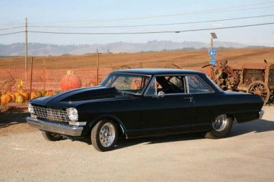 "Chevy II Nova 1962 - 1965 ""Race Weight Hoods"""