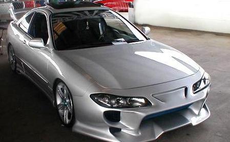 Acura Integra Carbon Fiber HoodGretzy Blue