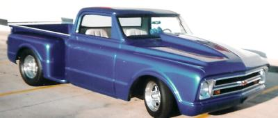 60 chevy truck hood
