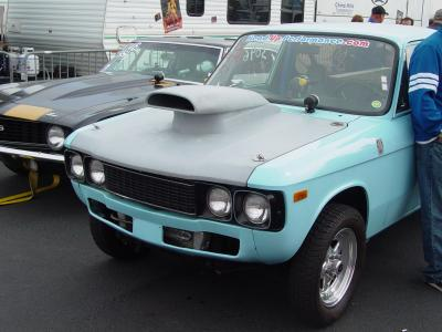 chevy luv front bumper